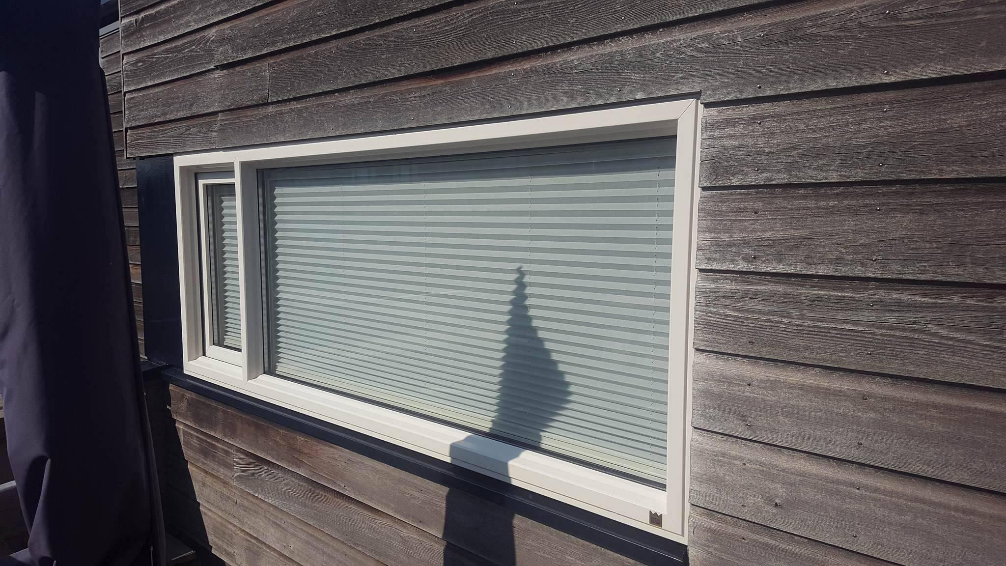 Kunststof kozijnen met raamdecoratie Vleuten