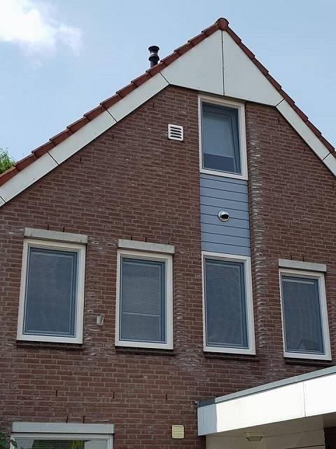 kunststof kozijnen met diversen raamdecoratie
