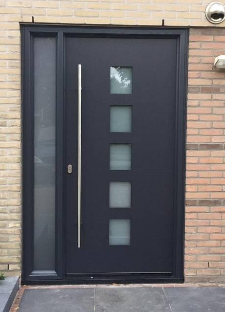 Moderne voordeur Kroon Kozijn Heemskerk