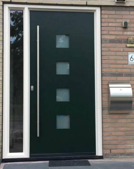 Moderne voordeuren